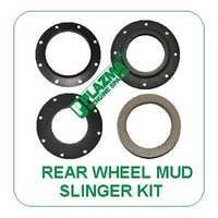 Rear Wheel Mud Slinger Kit Green Tractors