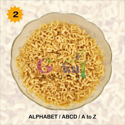Alphabet Shaped Fryums