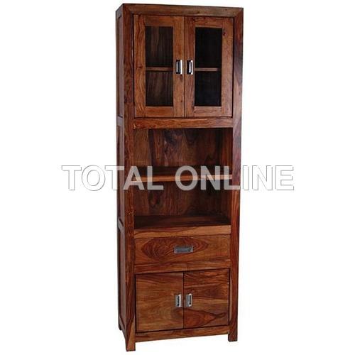 Antique Looking Sheesham Wooden Kitchen Cabinet