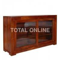 Wooden Six Shelves Side Board With Colonial Maple