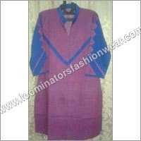 Red Print Cotton Ladies Top
