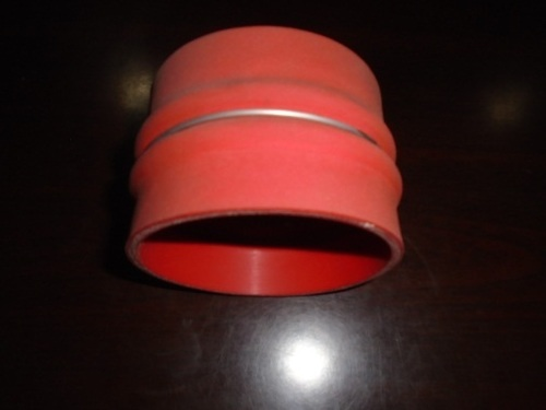 FABRIC & METAL COVERED SILICONE BELLOW HOSE
