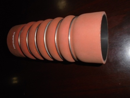 FABRIC & METAL COVERED SILICONE HOSE
