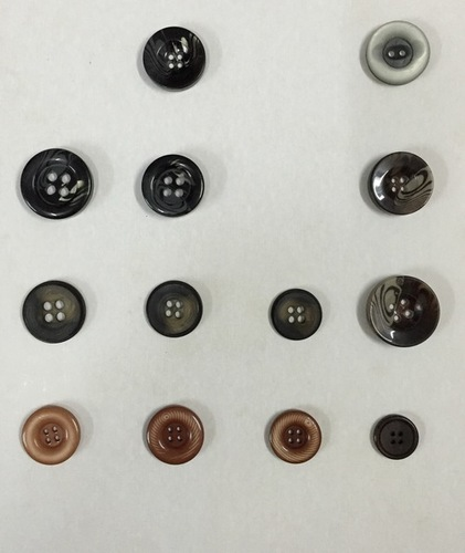 Polyester Fancy Buttons