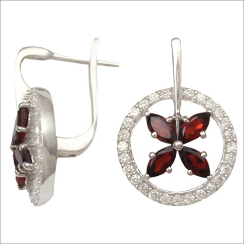 Semi precious Stylish Earrings