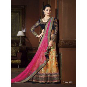 Multicolor Embroidered Lehengas