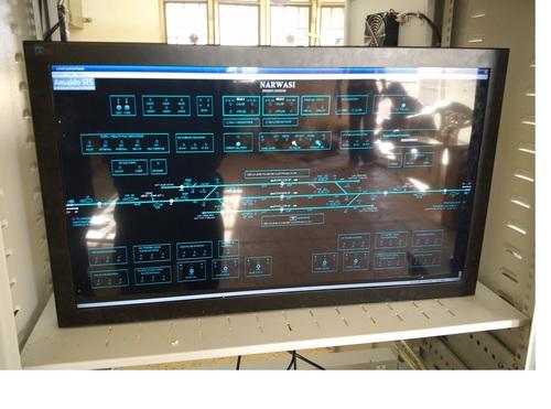Industrial Grade VDU Display