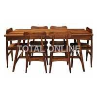 Beautiful Wooden Dining Set With Bench