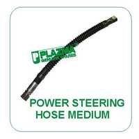 Power Steering Hose Medium Green Tractor