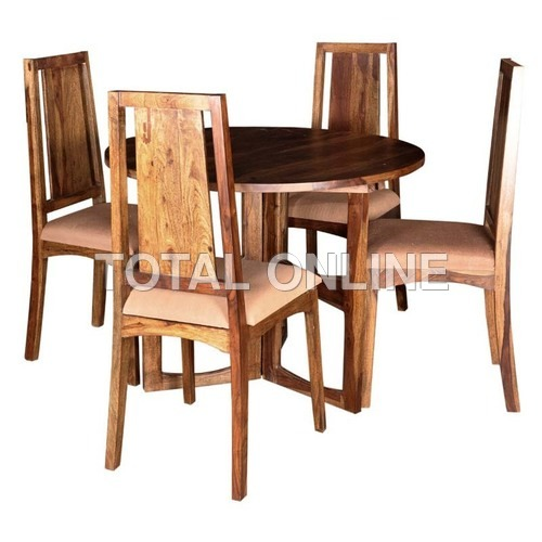 Distinctive Wooden Dining Table Set