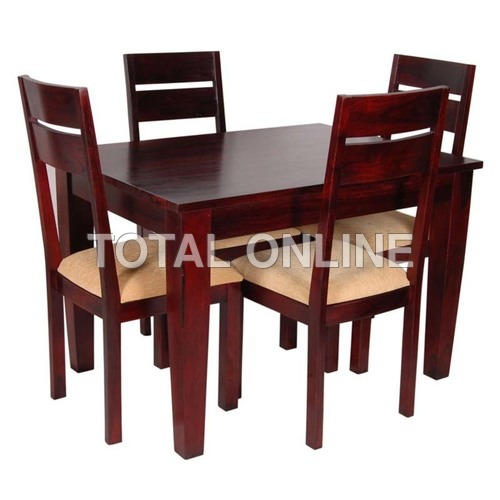 Striking Wooden Dining Table