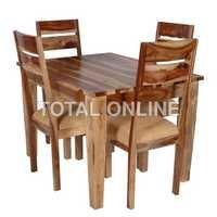 Tasteful Wooden Dining Table Set