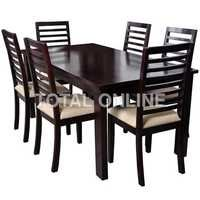 High Quality Dark Wooden Dining Table