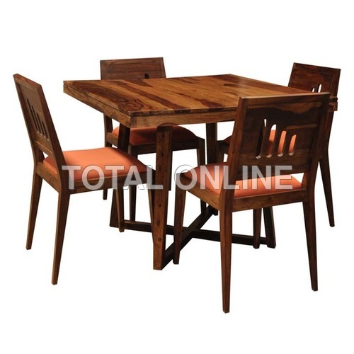 Eccentric Wooden Dining Table Set
