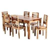 Splendid Wooden Dining Table Set