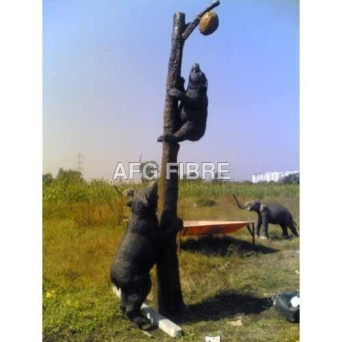 FRP Bear Statues