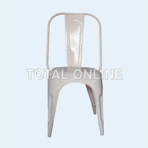 Eye-Catchy Set of 4 Iron Chairs