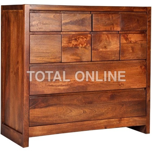Pleasing Wooden Chest of Drawer