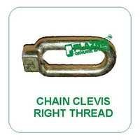 Chain Clevis Right Thread Green Tractors