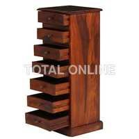 Vertical Wooden Chest of Drawer
