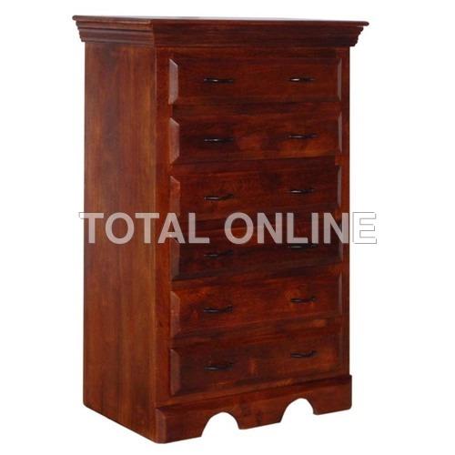 Sleek Designed Sheesham Wood Made Tall Chest