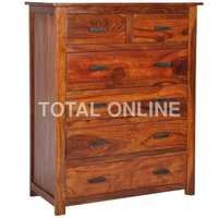 Sheesham Wood Spacious Chest of Drawer