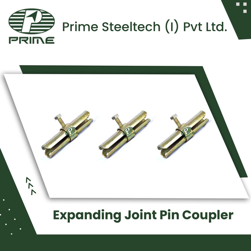 Expanding Joint Pin Coupler