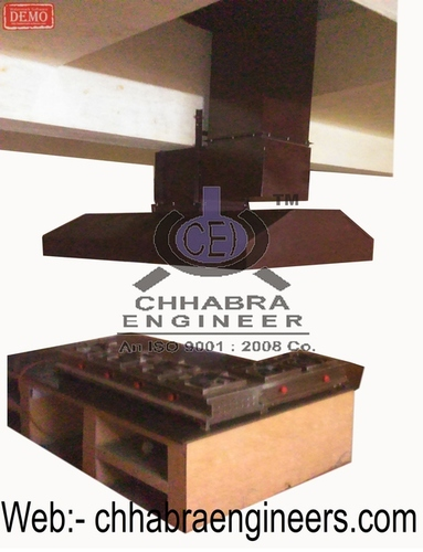 COMMERCIAL KITCHEN EXHAUST HOOD