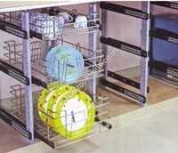 SS Cabinet Pole System