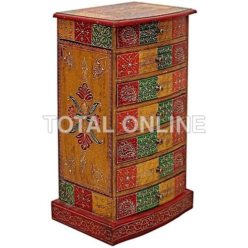 Splendid Wooden Handmade Drawer Cabinet