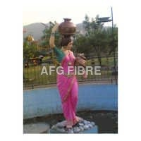 FRP Fountains Statue