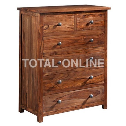 Wooden Solid Spacious Chest of Drawer