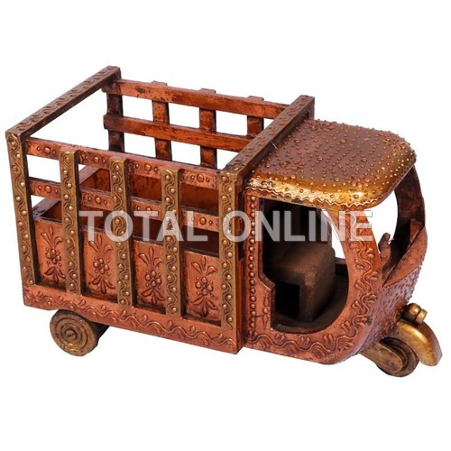Exquisite Wooden Handpainted Loading Taxi