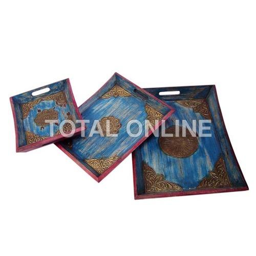 Electrifying Blue Trays
