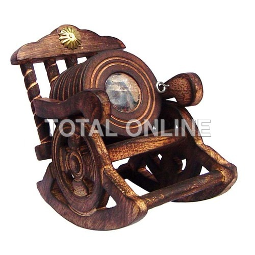 Fancy Rocking Chair Designed Coaster Set Made
