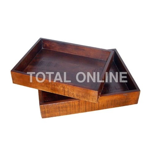 Multipurpose Wooden Tray