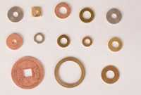 Copper Plain Washer
