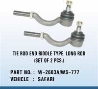 SAFARI TIE ROD END RIDDLE TYPE  LONG ROD