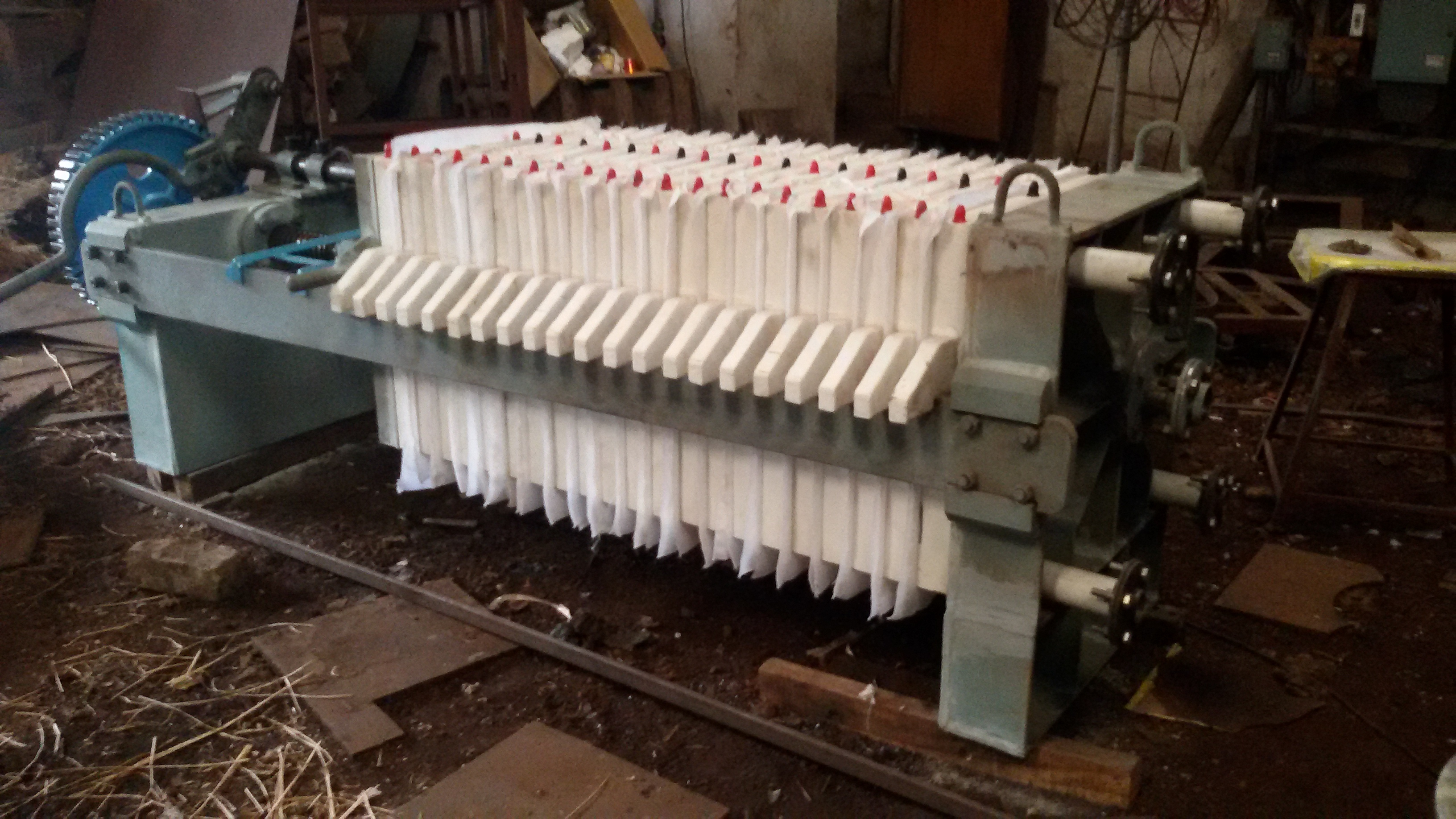 Filter Press With Polymer Plates