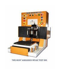Two body Abrasion wear test rig