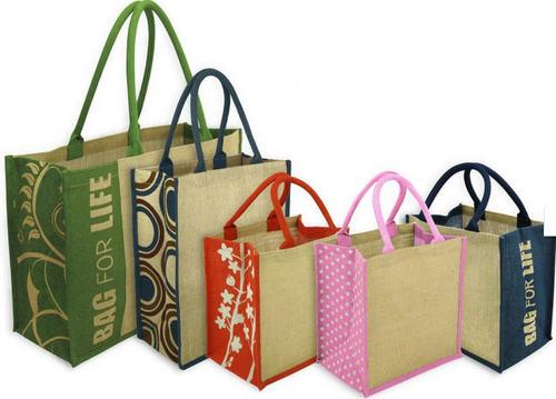 Desiner Jute Tote Bag