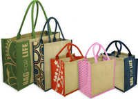 Desiner Jute Tote Bag