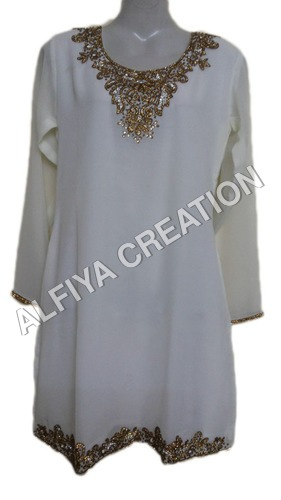 Elegant Fancy Long Sleeves Blouse Tunic