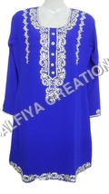 Exclusive Royal Blue Beach Tunic Blouse