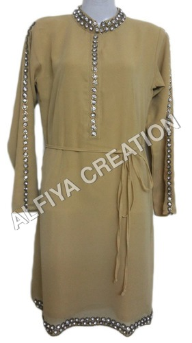 Fancy Tunic Blouse With Separate Belt