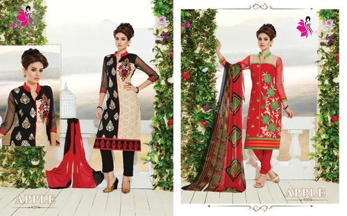 Latest Salwar Suits Apple In Wholesale Rate