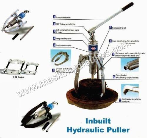 Inbuilt Hydraulic Puller