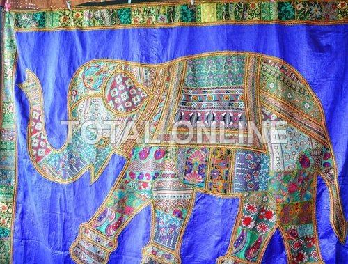 Appealing Elephant Print Wall Hanging