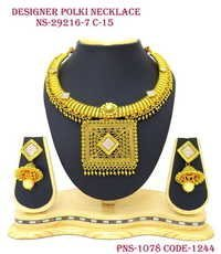 Designe Polki Necklace Set