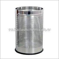 Stainless Steel Open Plain Bin